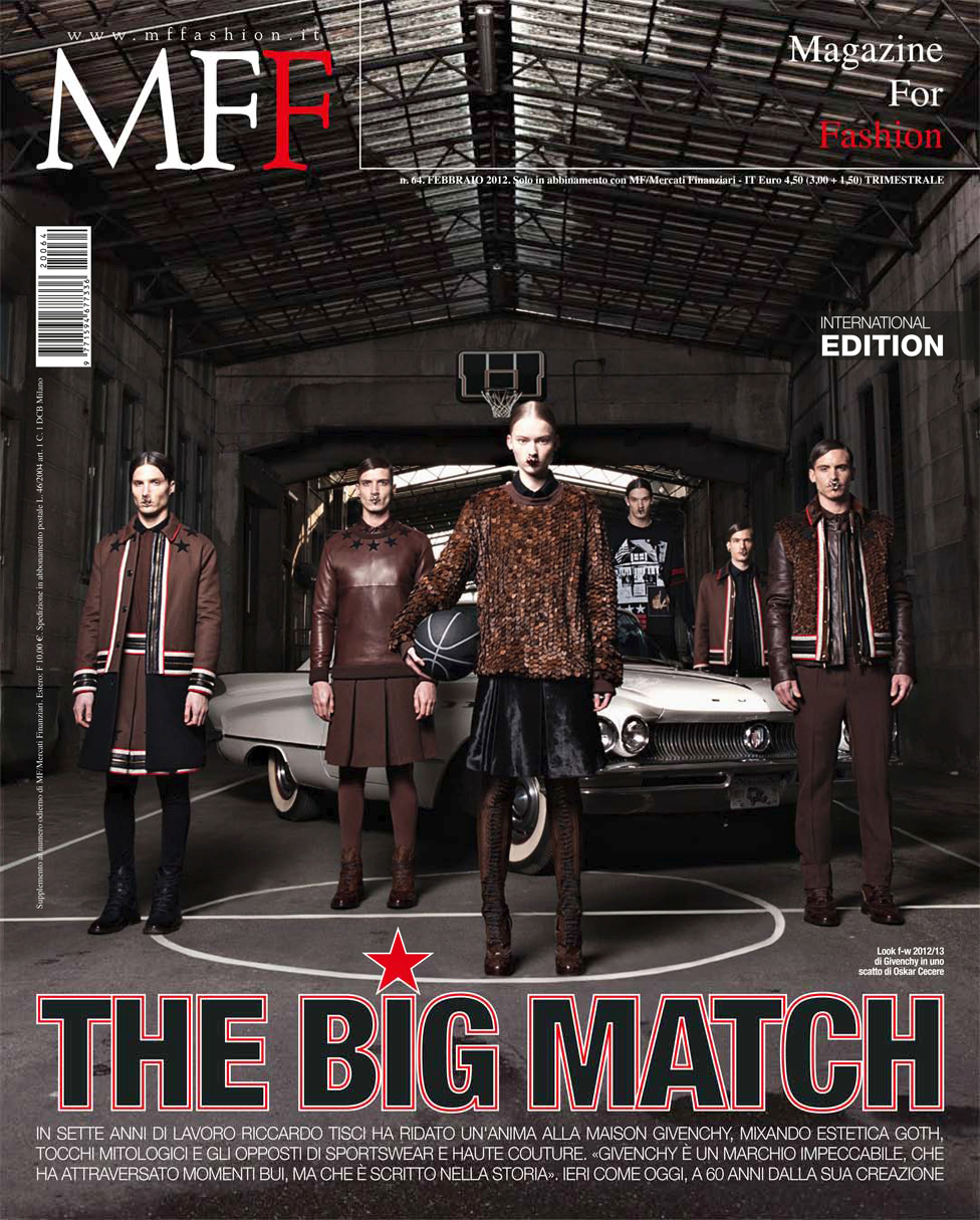 Oskar Cecere - Givenchy: The Big Match / MFF Magazine